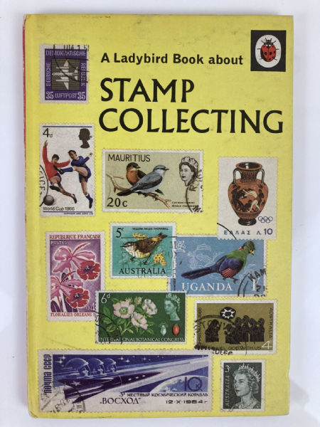 Vintage Ladybird Book - Stamp Collecting - 1972  Matt Boards Series 633